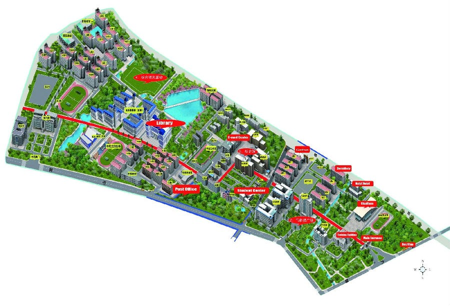 Nanjing University of Information Science and Technology map